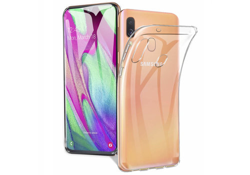Samsung A40 Hoesje Transparant - CoolSkin3T