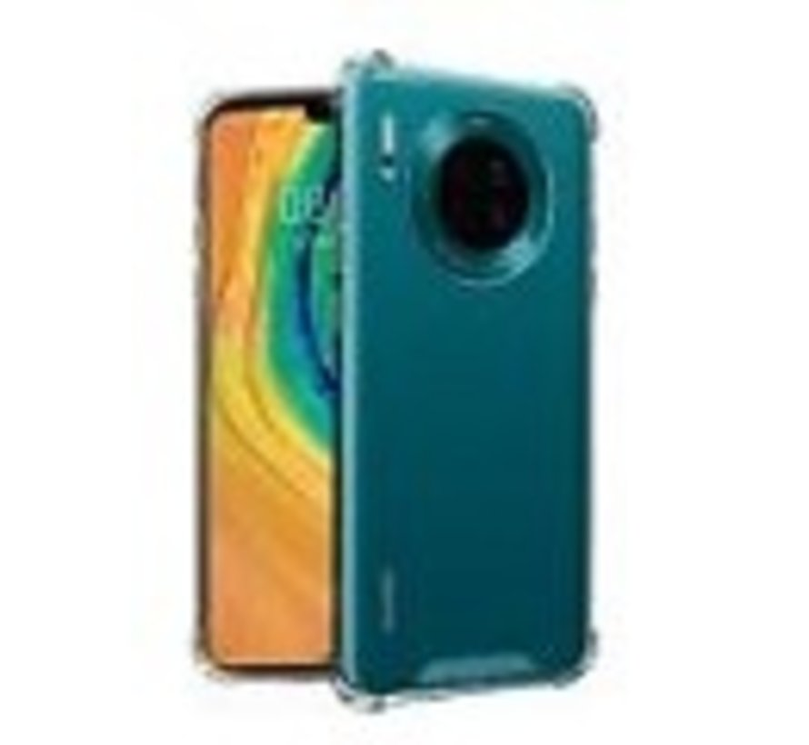 Huawei Mate 30 Lite Hoesje Shock Proof  Transparant - Anti-Shock