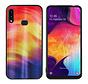 BackCover Aurora Glass voor Samsung A10S Paars