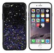 Colorfone iPhone 8 Plus and 7 Plus Case Blue Glitter - Spark