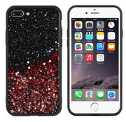 Colorfone iPhone 8 Plus and 7 Plus Case Red Glitter - Spark