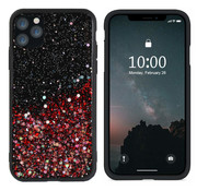 Colorfone iPhone 11 Pro Case Red Glitter - Spark