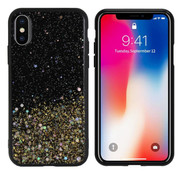 Colorfone iPhone X and Xs Case Gold Glitter - Spark
