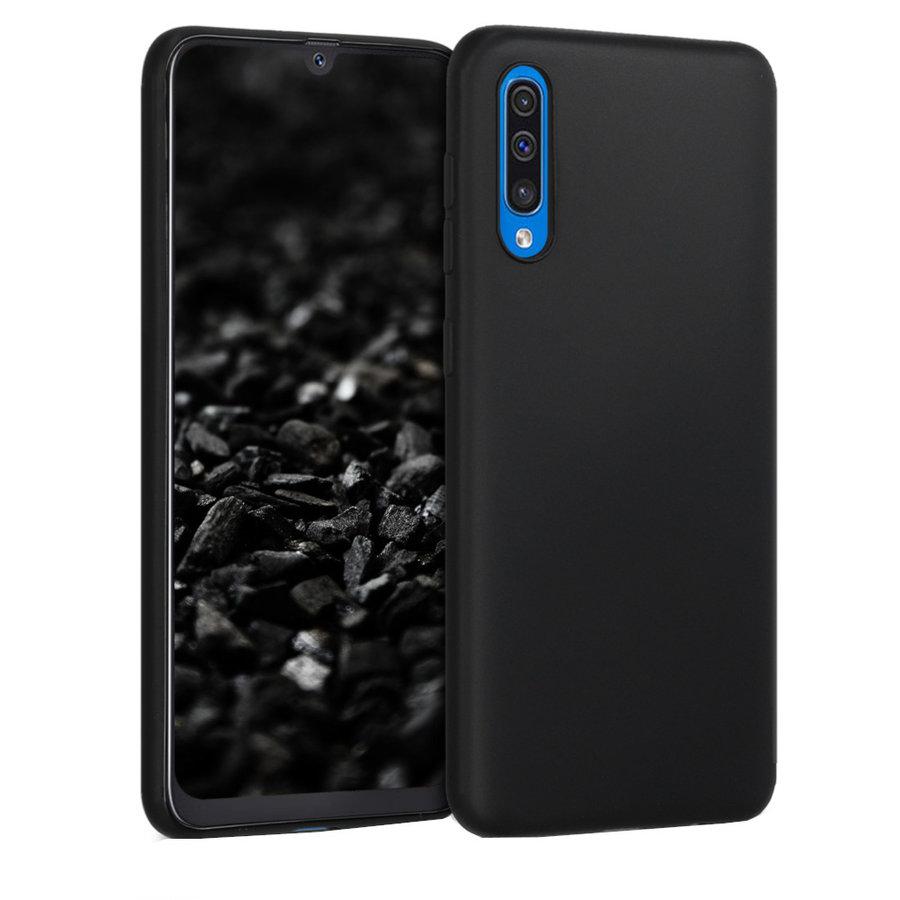 Case CoolSkin Slim TPU Case for  Samsung A50S Black