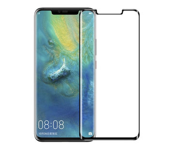 Colorfone Huawei Mate 30 Pro Screenprotector Glas - zwarte rand