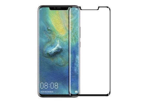Huawei Mate 30 Pro Screenprotector Glas - zwarte rand