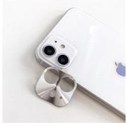 Colorfone iPhone 11 Case Silver Camera Protector - Metal