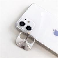 Metal Camera Lens Protector Beschermer Apple iPhone 11 (6.1) Zilver