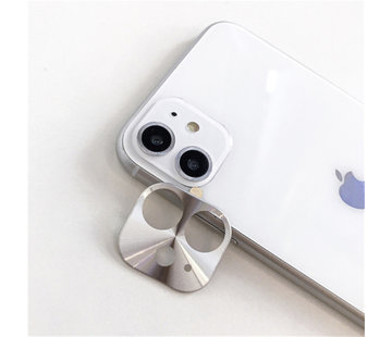 Colorfone iPhone 11 Lens Protector Zilver - Metal