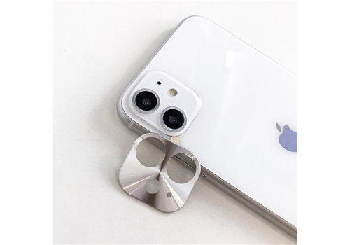 iPhone 11 Case Silver Camera Protector - Metal