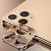 Colorfone Metal Camera Lens Protector Beschermer Apple iPhone 11 Pro (5.8) - 11 Pro Max (6.5) Goud