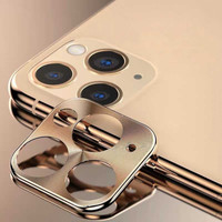 Metal Camera Lens Protector Apple iPhone 11 Pro (5.8) - 11 Pro Max (6.5) Gold