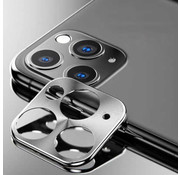 Colorfone iPhone 11 Pro and 11 Pro Max Case Silver Camera Protector - Metal