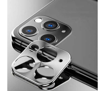 Colorfone iPhone 11 Pro - 11 Pro Max Lens Protector Zilver - Metal