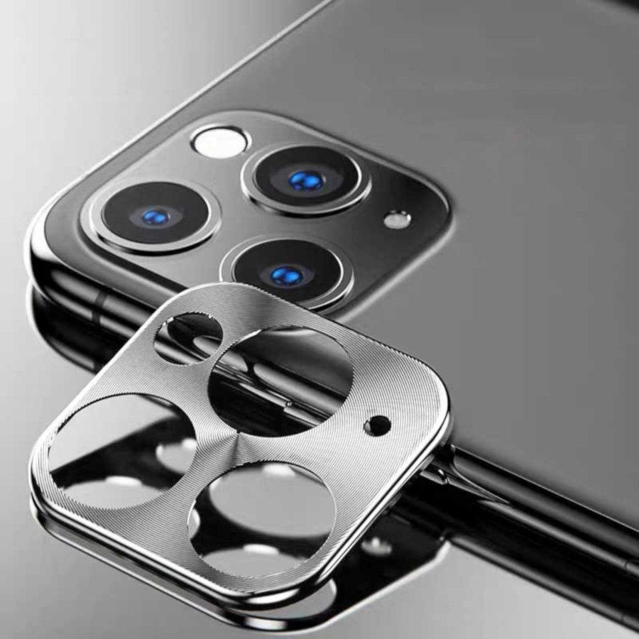 Metal Camera Lens Protector Beschermer Apple iPhone 11 Pro (5.8)/11 Pro Max (6.5) Zilver