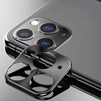 Metal Camera Lens Protector Apple iPhone 11 Pro (5.8) - 11 Pro Max (6.5) Black