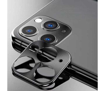 Colorfone iPhone 11 Pro - 11 Pro Max Lens Protector Zwart - Metal