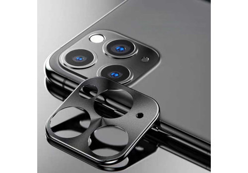 iPhone 11 Pro - 11 Pro Max Lens Protector Zwart - Metal