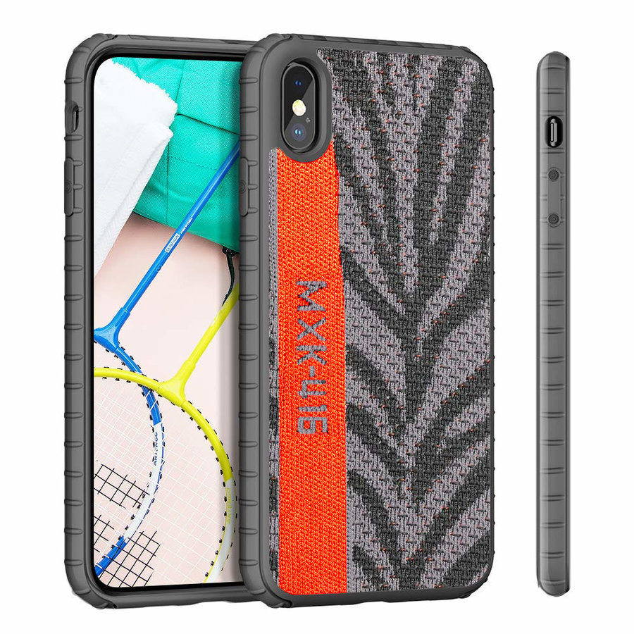 BackCover Sneaker for Apple iPhone Xs Max Gray