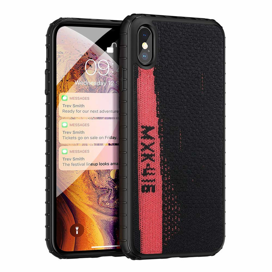 BackCover Sneaker for Apple iPhone Xs Max Black