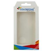Colorfone Kickstand iPhone 11 Pro Max (6.5) Transparant Zwart