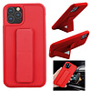 Colorfone BackCover Grip voor Apple iPhone 11 Pro Max (6.5) Rood