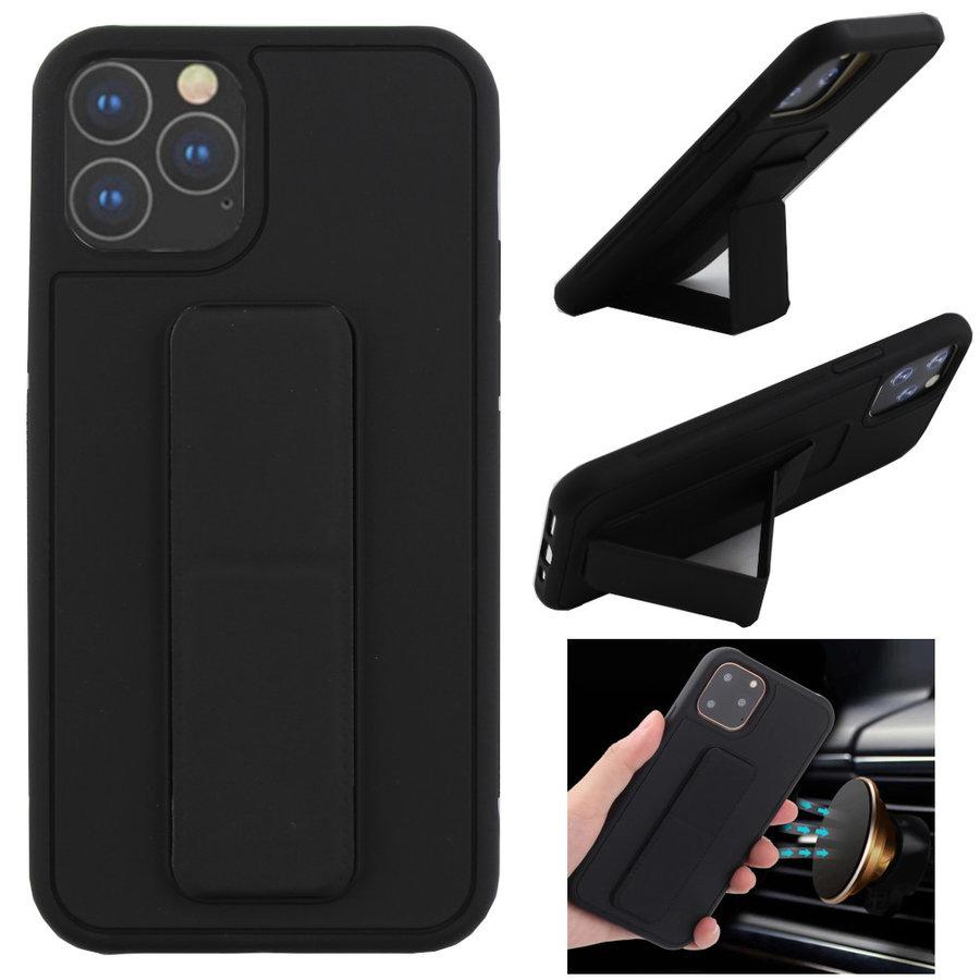 BackCover Grip voor Apple iPhone 11 Pro Max (6.5) Zwart
