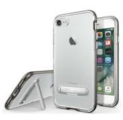 Colorfone iPhone 8 Plus and 7 Plus Case Black Transparent - Kickstand