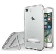Colorfone Kickstand iPhone 8 Plus - 7 Plus Transparant Zilver