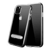 Colorfone iPhone 11 Pro Case Black Transparent - Kickstand