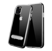 Colorfone Kickstand iPhone 11 Pro (5.8) Transparant Zwart