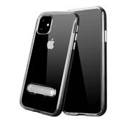 Colorfone IPhone 11 Case Black Transparent - Kickstand