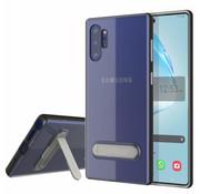 Colorfone Samsung Note 10 Plus Case Black Transparent - Kickstand