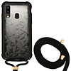 Colorfone Backcover Shockproof Cord 3D PC for Samsung A40 Black