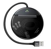 Baseus Oplaadstation + 3 in 1 kabel