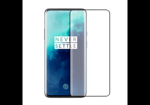 Glass Curved OnePlus 7T Pro Black (Half Glue)
