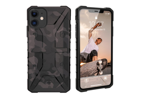 Stoßfestes Armee iPhone 11 (6.1) Schwarz