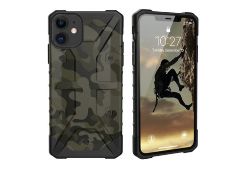 Stoßfestes Armee iPhone 11 (6.1) Grün