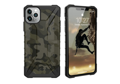 Stoßfestes Armee iPhone 11 Pro (5.8) Grün