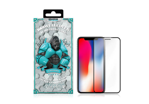 iPhone 11 Pro - X - XS Screeprotector Glas 100D