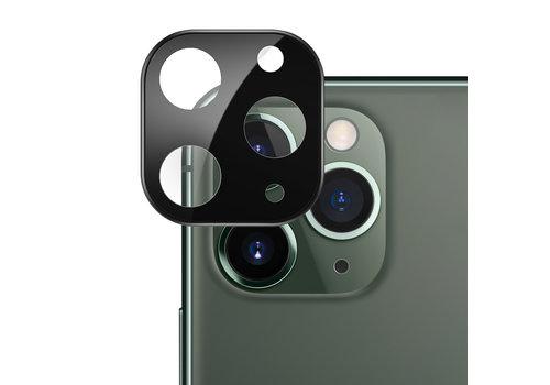 Kameraobjektivschutz aus Titan und gehärtetem Glas für iPhone 11 Pro/11 Pro Max Schwarz
