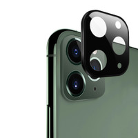 ATB Design Titanium + Tempered Glass Camera Lens Protector iPhone 11 Pro/11 Pro Max Black