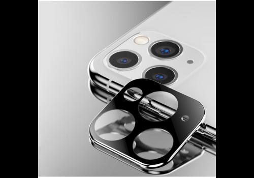 Kameraobjektivschutz aus Titan und gehärtetem Glas für iPhone 11 Pro/11 Pro Max Silber