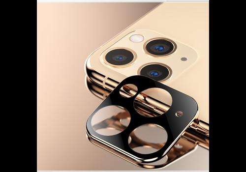 Titanium + Tempered Glass Camera Lens Protector iPhone 11 Pro/11 Pro Max Gold