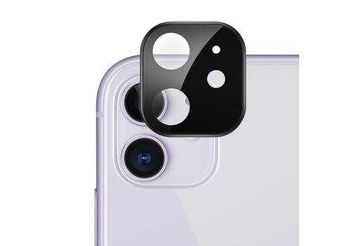 Titanium + Tempered Glass Camera Lens Protector iPhone 11 Black