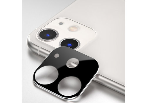 Titanium + Tempered Glass Camera Lens Protector iPhone 11 Silver