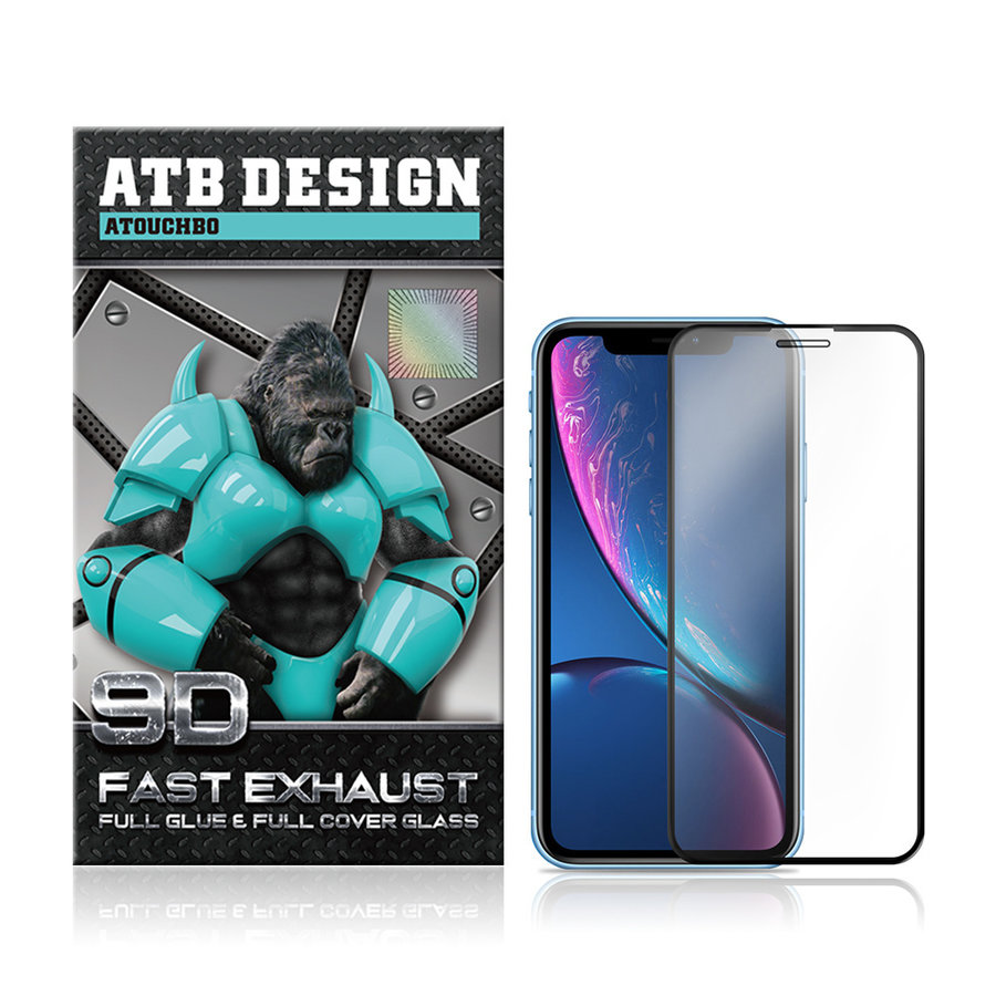 iPhone 11 - Xr Screenprotector - Tempered Glass 9D