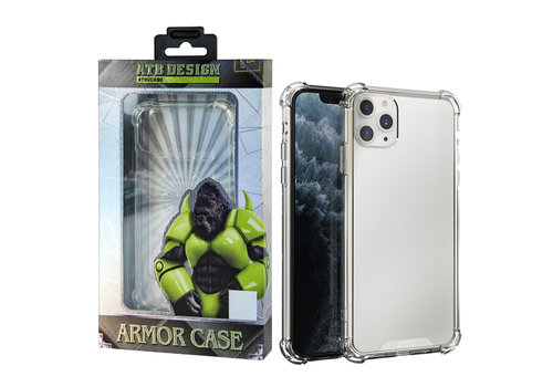 iPhone 11 Pro Hoesje Transparant - Anti-Shock