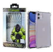Atouchbo iPhone 11 Case Transparent - Anti-Shock