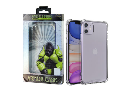 iPhone 11 Hoesje Transparant - Anti-Shock